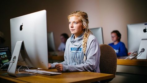 Students Miss Friends and Adjust to Online School