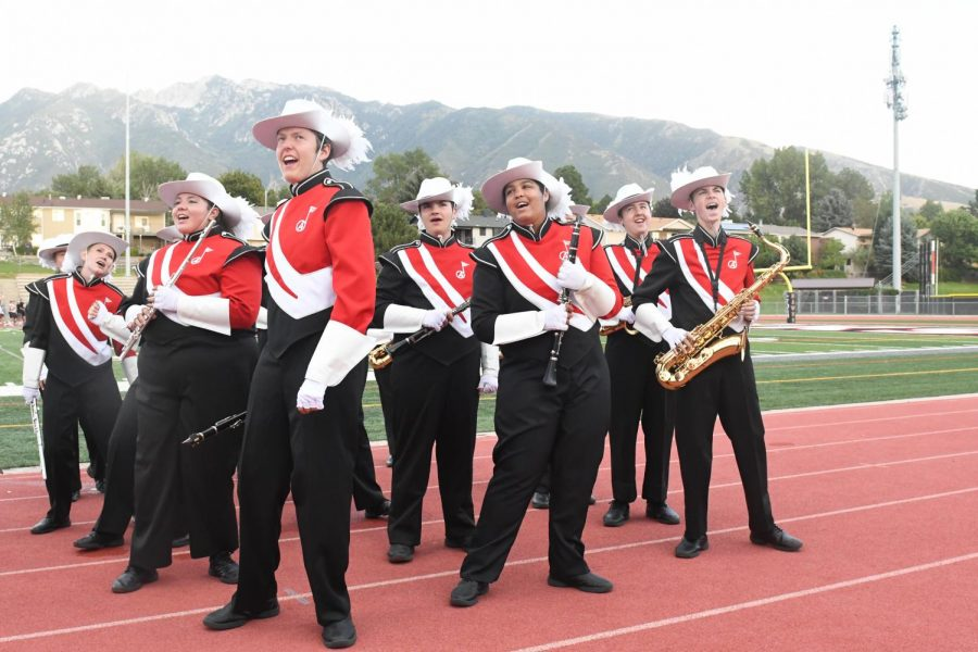 Marching Band takes on the 70's with this Year's Theme