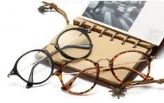 Classic Vintage Transparent Glasses