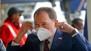 Utah Governor Gary Herbert asks Utah Residents to Wear Face Masks in Public to Deter the Transfer of the Covid-19 virus.