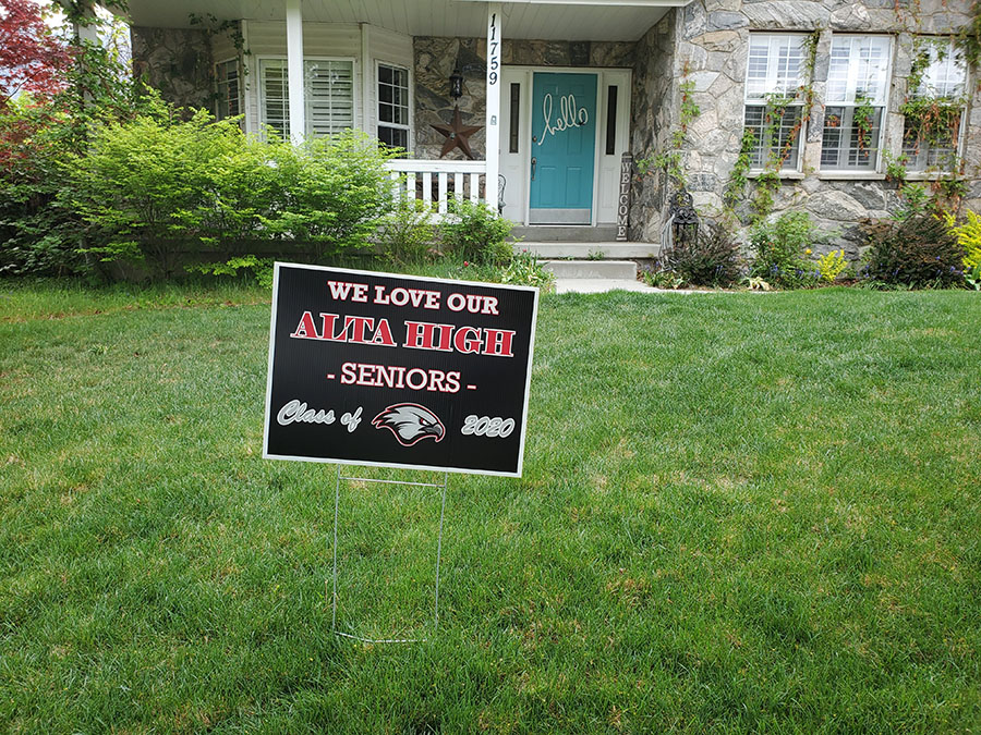 Yard+Signs+Delivered+to+Seniors+Symbolic+of+a+Group+Hug