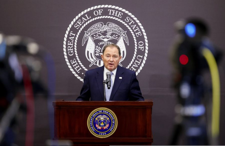 Governor Gary Herbert issues a state-wide mask mandate in hopes of curbing the rampant spread of Covid-19 throughout the state.