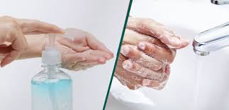 Hand sanitizer is not a substitute for hand washing.