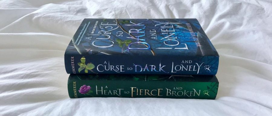 A+Curse+so+Dark+and+Lonely+by+Brigid+Kemmerer+is+a+top+recommendation+for+holiday+reading+this+year.