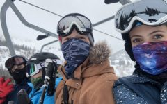 Students Feel Safe from Covid while Skiing and Snowboarding