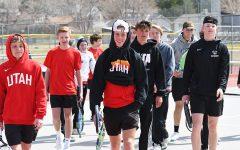 Boys Tennis Team Topples Timpview in Region Match