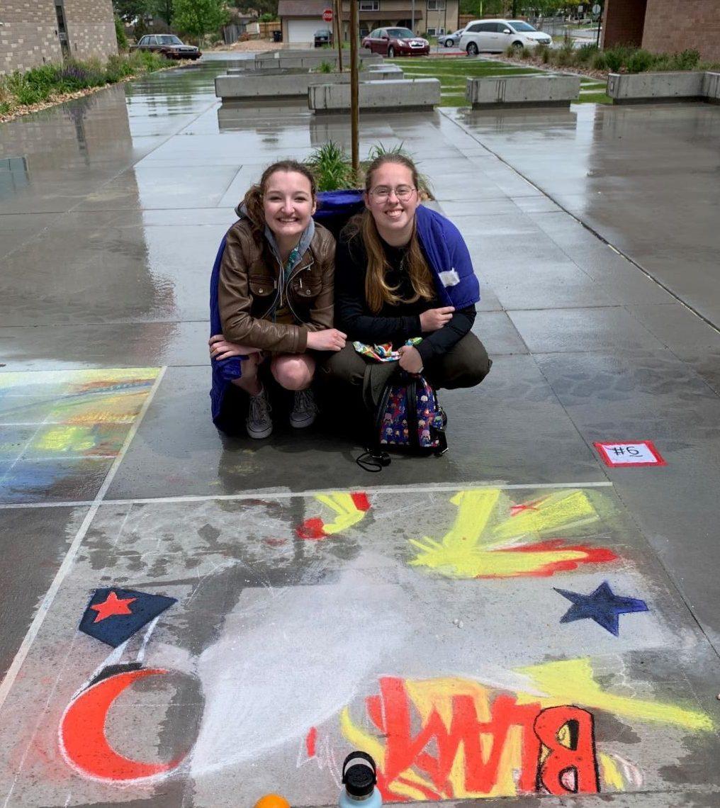Chalk+The+Walk+Cut+Short+by+Rain+Storm