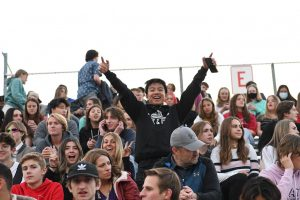 Jordan Cai and the rest of the student body celebrated the end of the year and the beginning of summer.