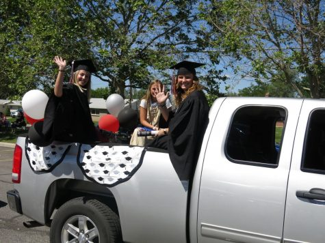 Students celebrate graduation in June 2020. In spite of COVID, they had to stay strong and stay the course to graduate.