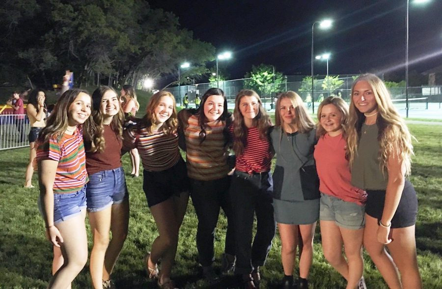 2019 was the last year for the Pepperwood Party. This group of freshmen enjoyed the party and will be going again this year.