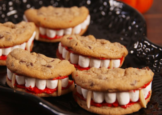 Halloween Snack Series: Dracula Dentures