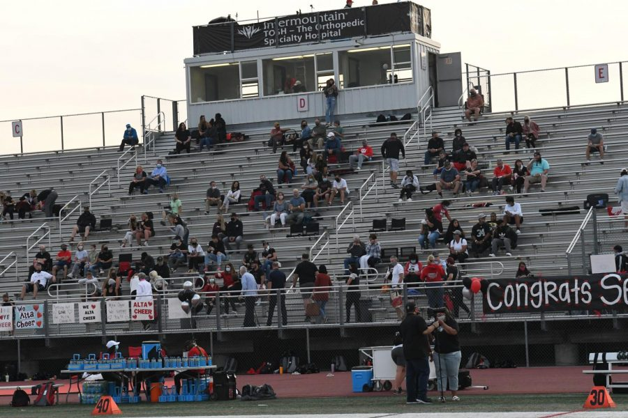 Last year's Homecoming Game was a ghosttown because of Covid. Family members of players and halftime performers were the only people allowed in the stands. This year's game promises to draw a very large crowd.