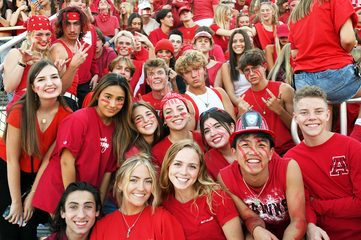 Altas+Student+Section+is+Back%21