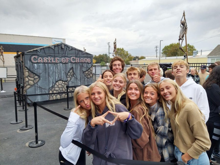 Mr. Smiths business students took a field trip to Castle of Chaos this month to learn more about the production of this seasonal house of terror.